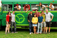 The Big Green Bus and Crew, 2008 trip